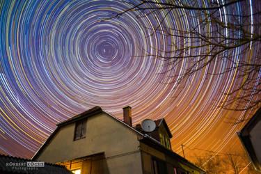 Night circles by NorbertKocsis