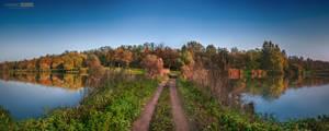 Watershed road by NorbertKocsis