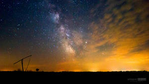 Milky Way and the coming cloud by NorbertKocsis