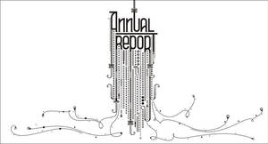 annual report cover by ngupi