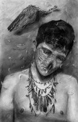 Self Portrait as a Bird... by tdylan
