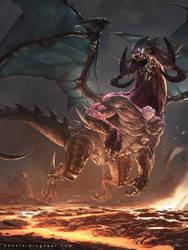 Dark Dragon by ChunLo