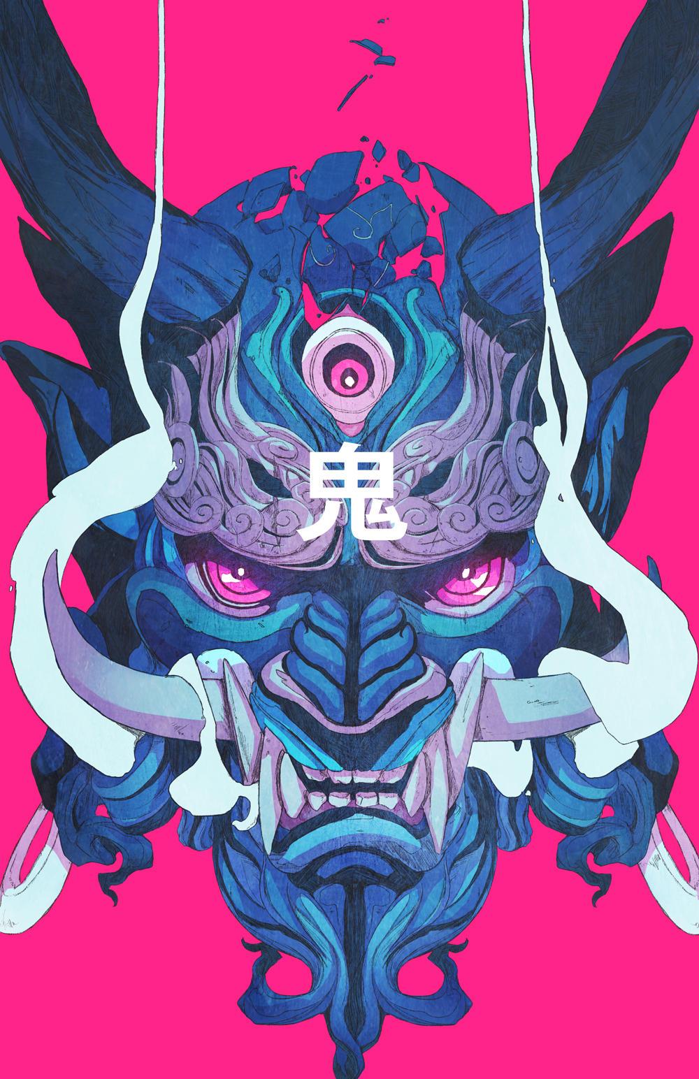 Oni Mask 01 by ChunLo