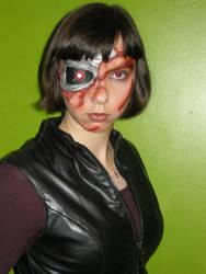 Terminator makeup by EHyde