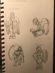 More Quad sketches by YarsCommandZardon
