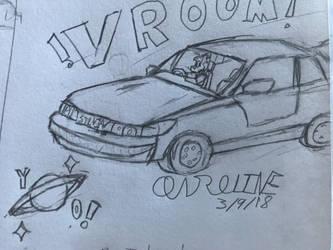 Yo Saturn! and a Silvia by YarsCommandZardon