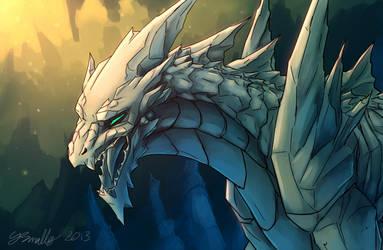 Crystal Dragon by PurpleTigress