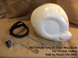 MLP POny HeadBase mounted (for Sale) by AtalontheDeer