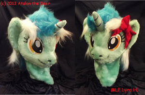 MLP Lyra 2013 POny Horse Female by AtalontheDeer