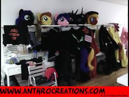 Costume Setup Galacon 2014 Lounge by AtalontheDeer