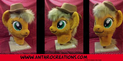 AJ Fursuit Head Pony Horse by AtalontheDeer