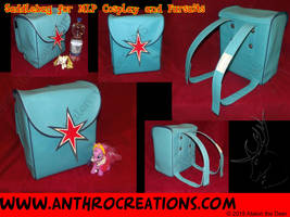 Saddlebag Tornister Backpack Brony Fursuit TWS by AtalontheDeer