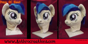 MLP Pony OC Head Female by AtalontheDeer