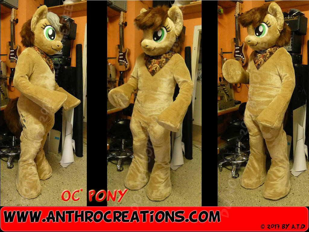 MLP Fursuit Costume OC 2017 by AtalontheDeer