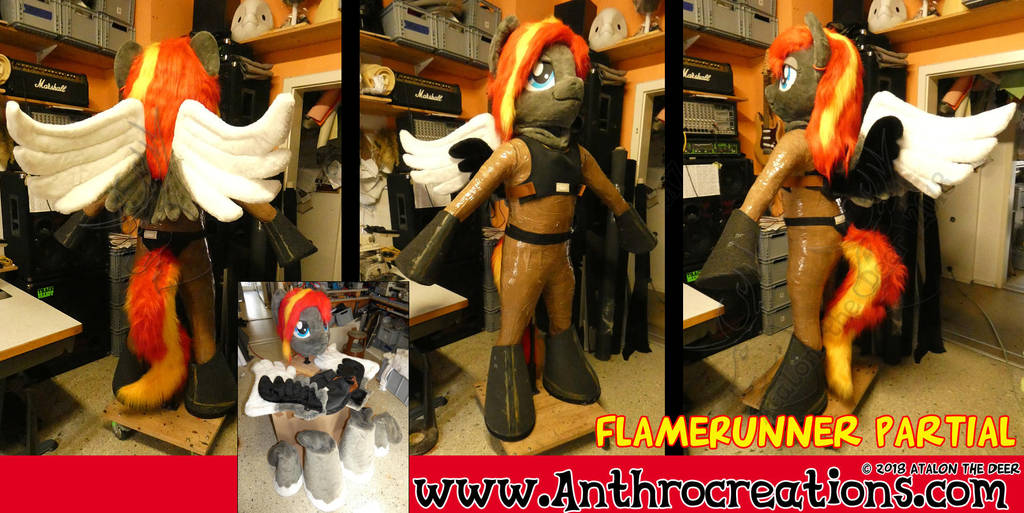 MLP Pony Costume Partial Flamerunner by AtalontheDeer