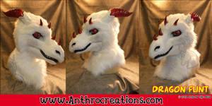 Dragon Head Flint  White Dragon by AtalontheDeer