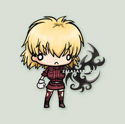 Chibi Seras Commission by zelas