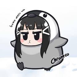 Penguin by chroneco