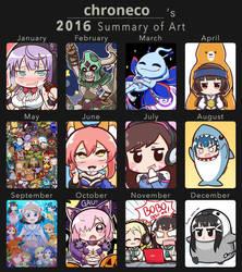 2016 Art Summary by chroneco