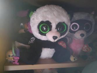 fc6ba5ae9ab PoKeMoNosterfanZG 2 0 My TY Beanie Boo Bamboo Panda Plush 301 by  PoKeMoNosterfanZG