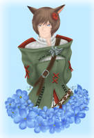 Final Fantasy XIV - Myosotis Scorpioides by GaleSpider