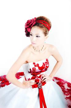Evonne Teah - in Red by zero5phh