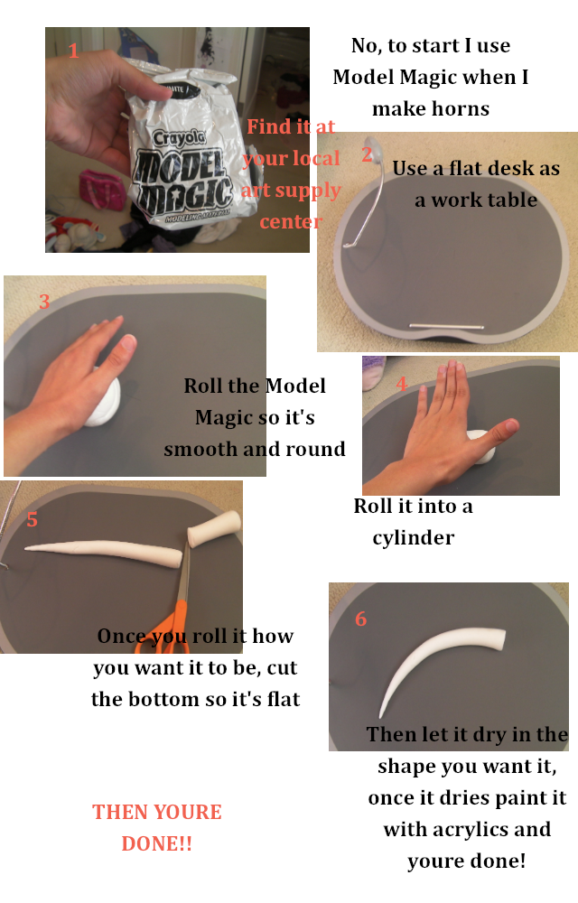 tutorial for horns: Mysu by Marara-Ari