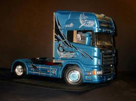 Scania R620 - Italeri 1/24 by LarsenGR