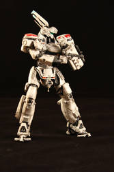 Patlabor Bandai Ingram av98 kit 1:48 by LarsenGR