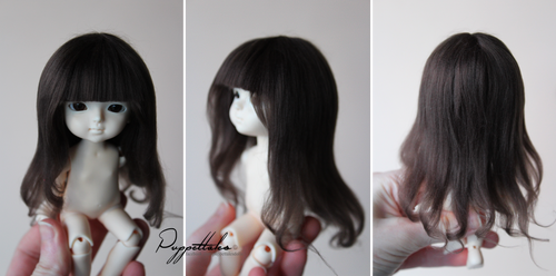 Fur Wig Commission for Lati by puppettales