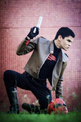 Jason Todd, The Red Hood - The Shelter's on Fire by DashingTonyDrake