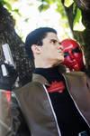 Jason Todd, The Red Hood - Tiger Punch by DashingTonyDrake