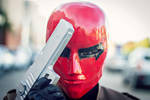 Jason Todd, The Red Hood - Burning All the Flags by DashingTonyDrake