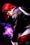 Iori Yagami - Nake! Sakebe! Soshite shine!#KOF by DashingTonyDrake