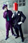Red Hood One and The Joker - B Side by DashingTonyDrake