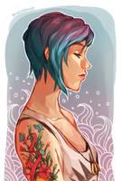 Chloe Doodle by thiefofstarz