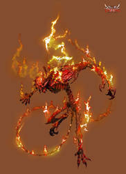 Anima: Fire Demon by Wen-M