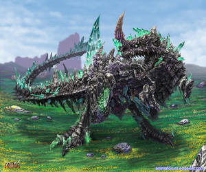 Anima: Earth Elemental boss by Wen-M
