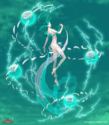 Anima: Wind Elemental Boss by Wen-M