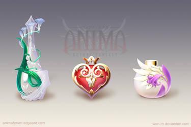 Anima: perfumes set 1 by Wen-M