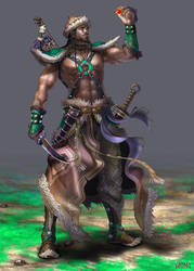 anima: warrior from grassland by Wen-M