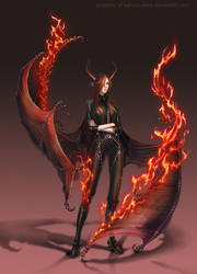 Commission: Naraku by Wen-M