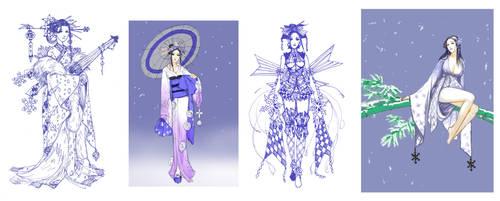 sketch: Yukionna by Wen-M