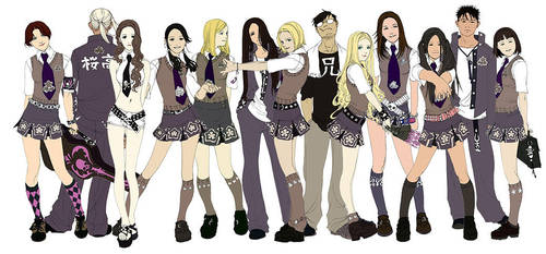 uniforms first group by Wen-M
