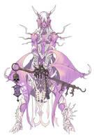 pink demon by Wen-M