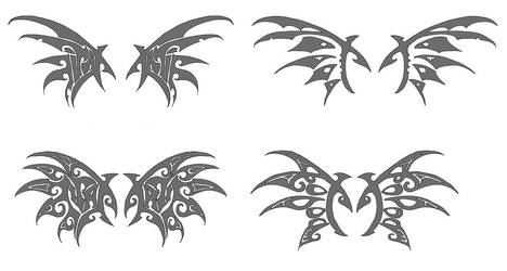 Tattoos for Kodoq by Wen-M