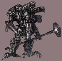 Mecha design: Thanatos by Wen-M