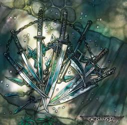 Luminous Echo: Weapons 1 by Wen-M