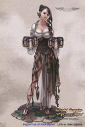 Luminous Echo: Charene by Wen-M