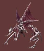 skeletal dragon thing by Wen-M